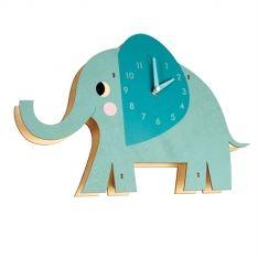 Kinder Wand Uhr Elefant Elvis Aus Holz Wanduhren Wanduhr