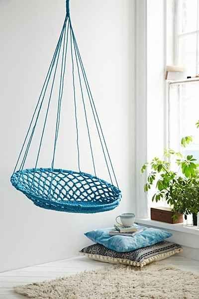 El discreto y sensual encanto de las sillas colgantes Hanging