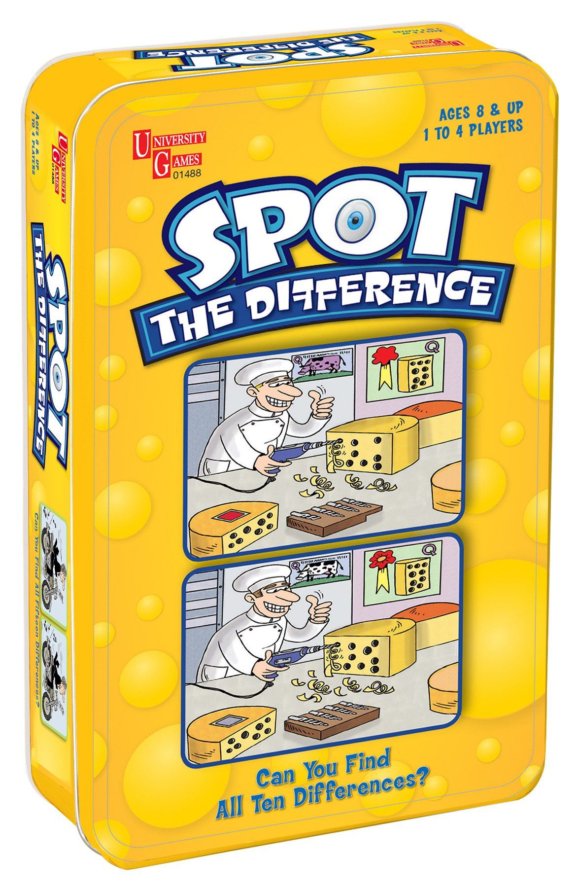Spot the Difference Card Game Discuss in target language