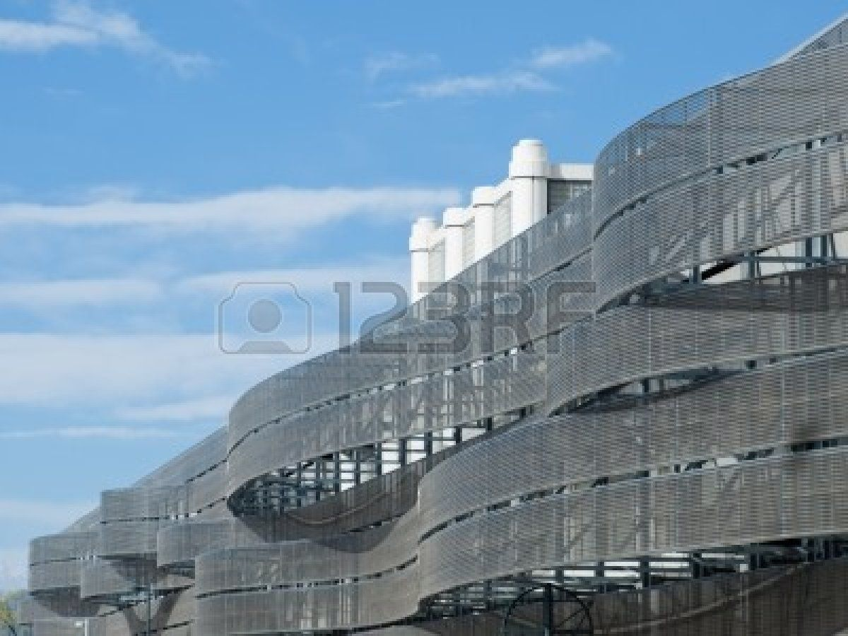 Detail Of The Colorado Convention Center In Downtown Denver. Stock ...