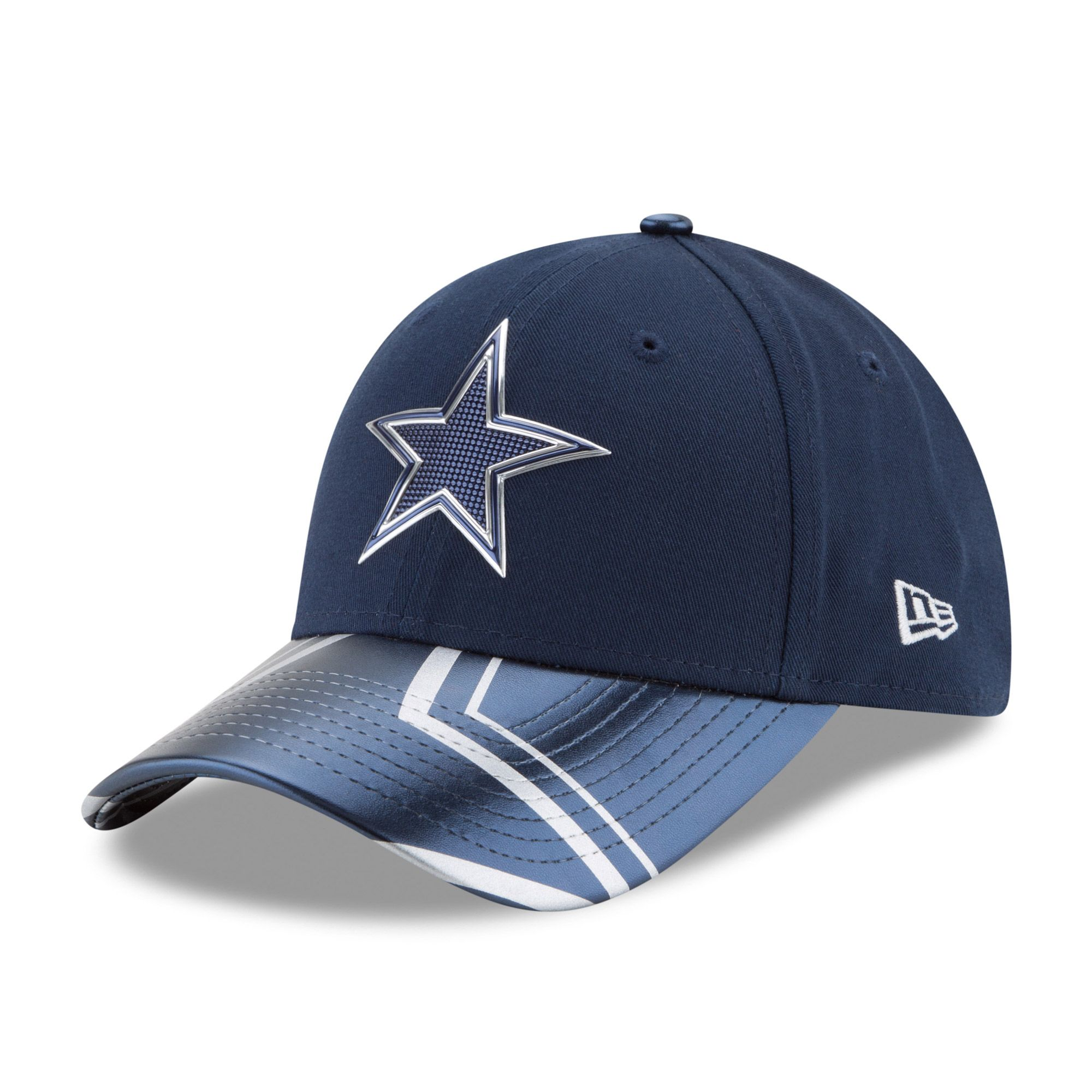 NFL Dallas Cowboys New Era Women s 2017 NFL Draft On Stage 9FORTY  Adjustable Hat 14e2a61f6477