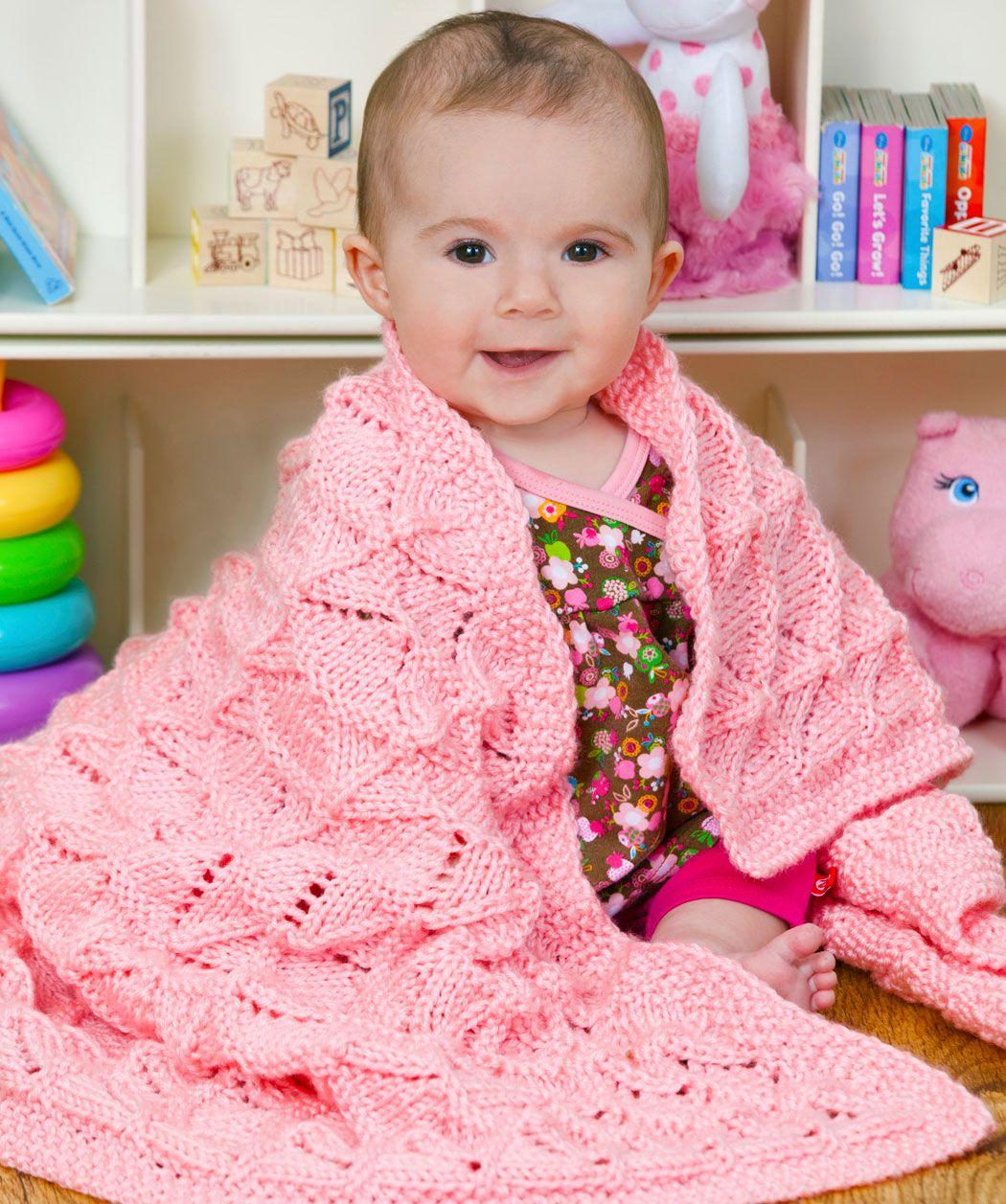 stricke diese weiche kuscheldecke w hrend du auf dein baby wartest das ajourmuster eignet sich. Black Bedroom Furniture Sets. Home Design Ideas