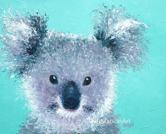 australian animals - Animal Painting For Kids