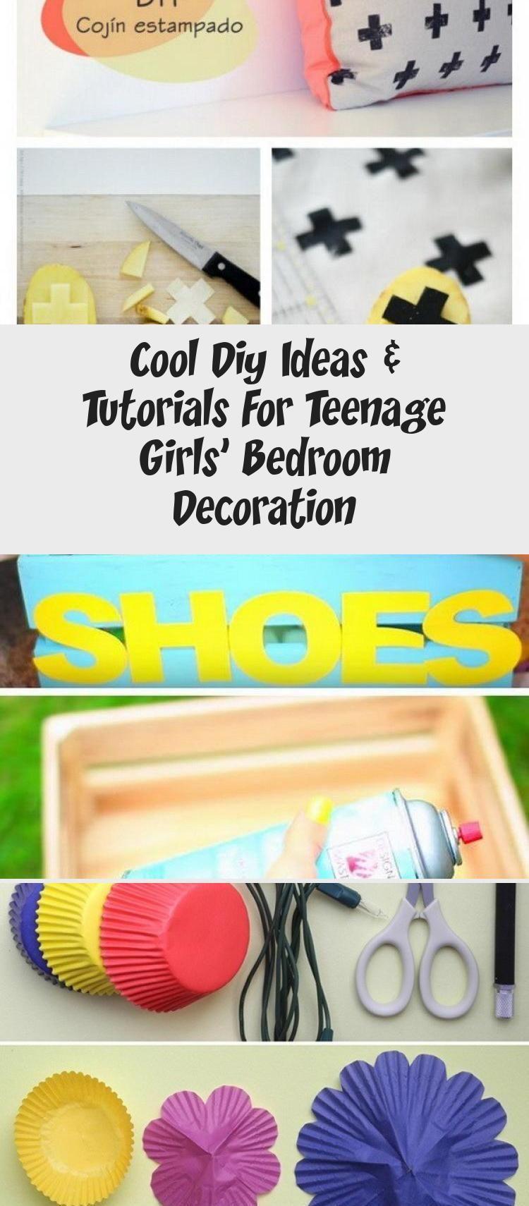 Cool Diy Ideas & Tutorials For Teenage Girls' Bedroom Decoration #teenagegirlbedrooms