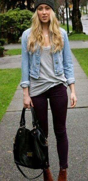 Photo of 35 Ideen, wie man Stiefeletten mit einer eleganten Röhrenjeans trägt