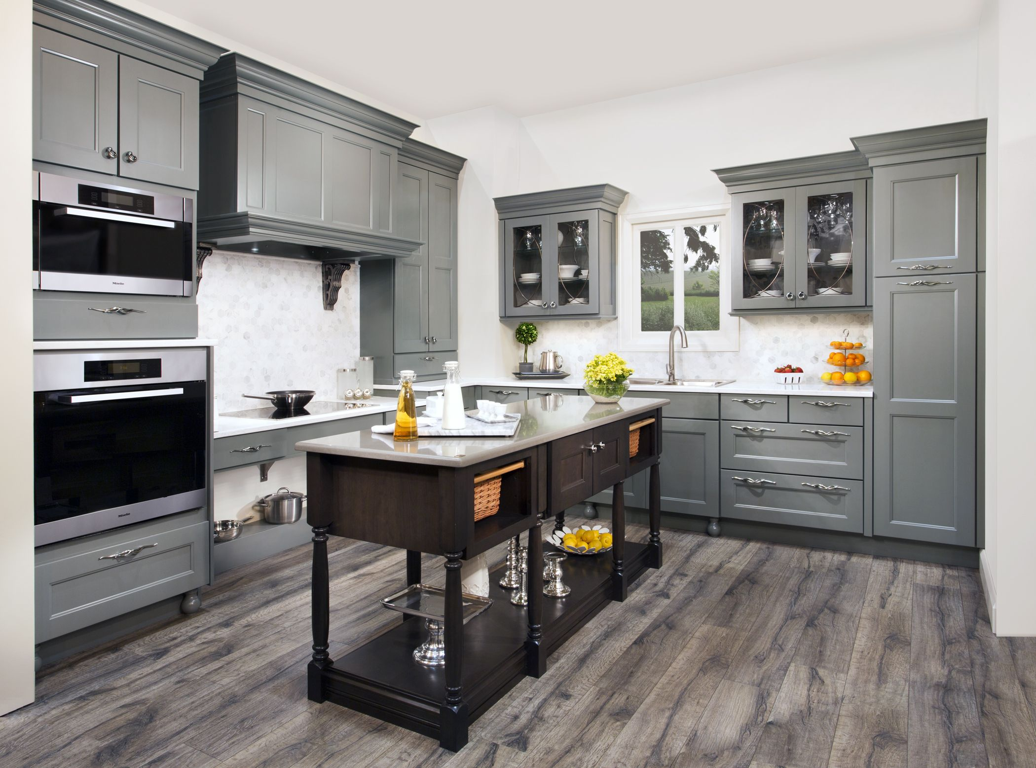 Messina Maple finished in Willow our beautiful new grey