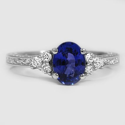 Brilliant Earth Sapphire Engagement Ring Blue Blue Sapphire Rings Engagement Rings Sapphire