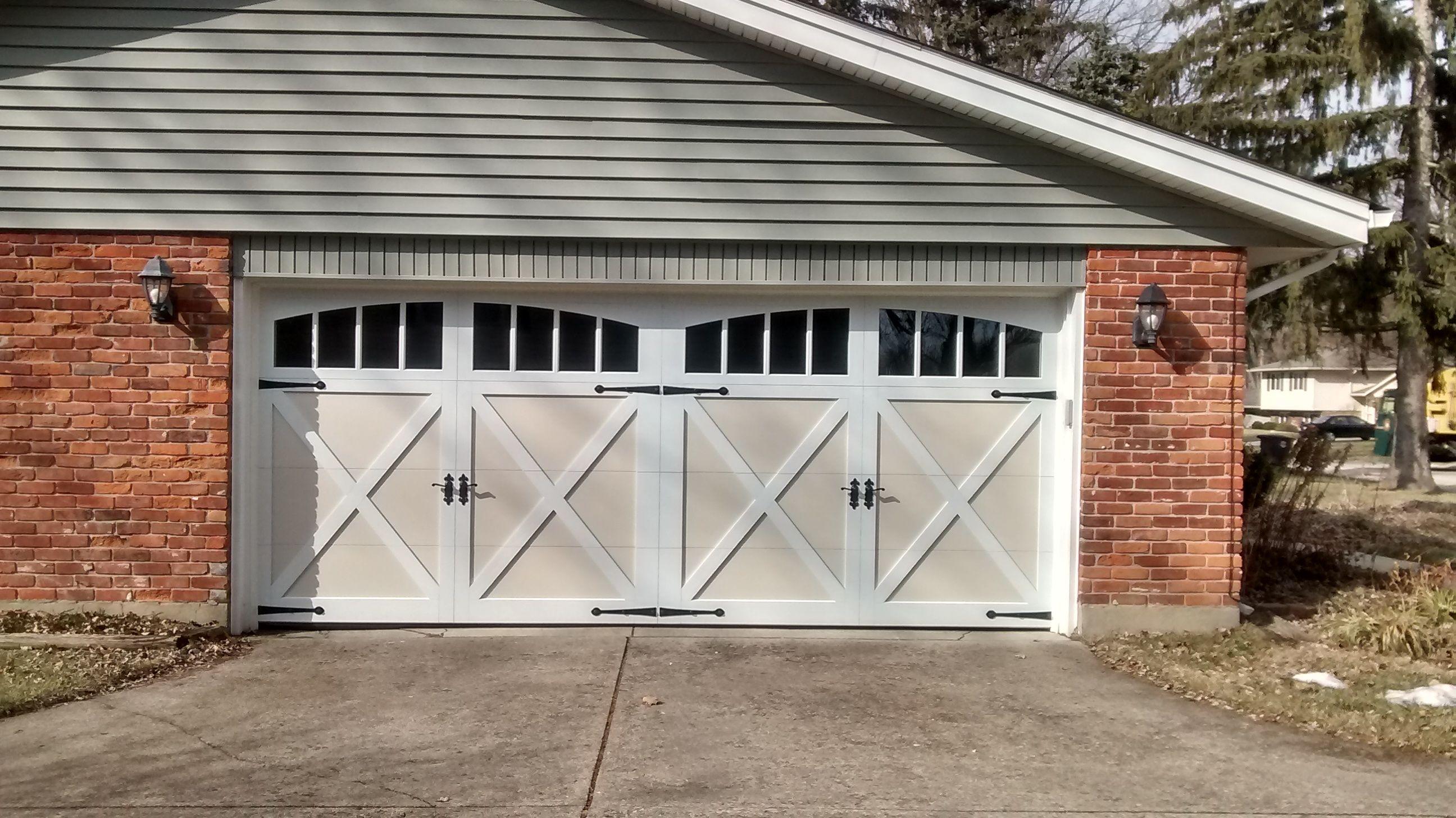 Garagedoors we work hard to get you the door you want
