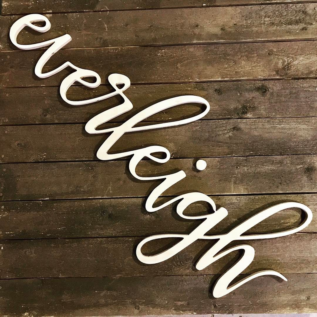 Large Wooden Custom Kids Room Decor Sign Nursery Name Letter For Baby Wall Home Furniture Diy Plaques Signs Ebay