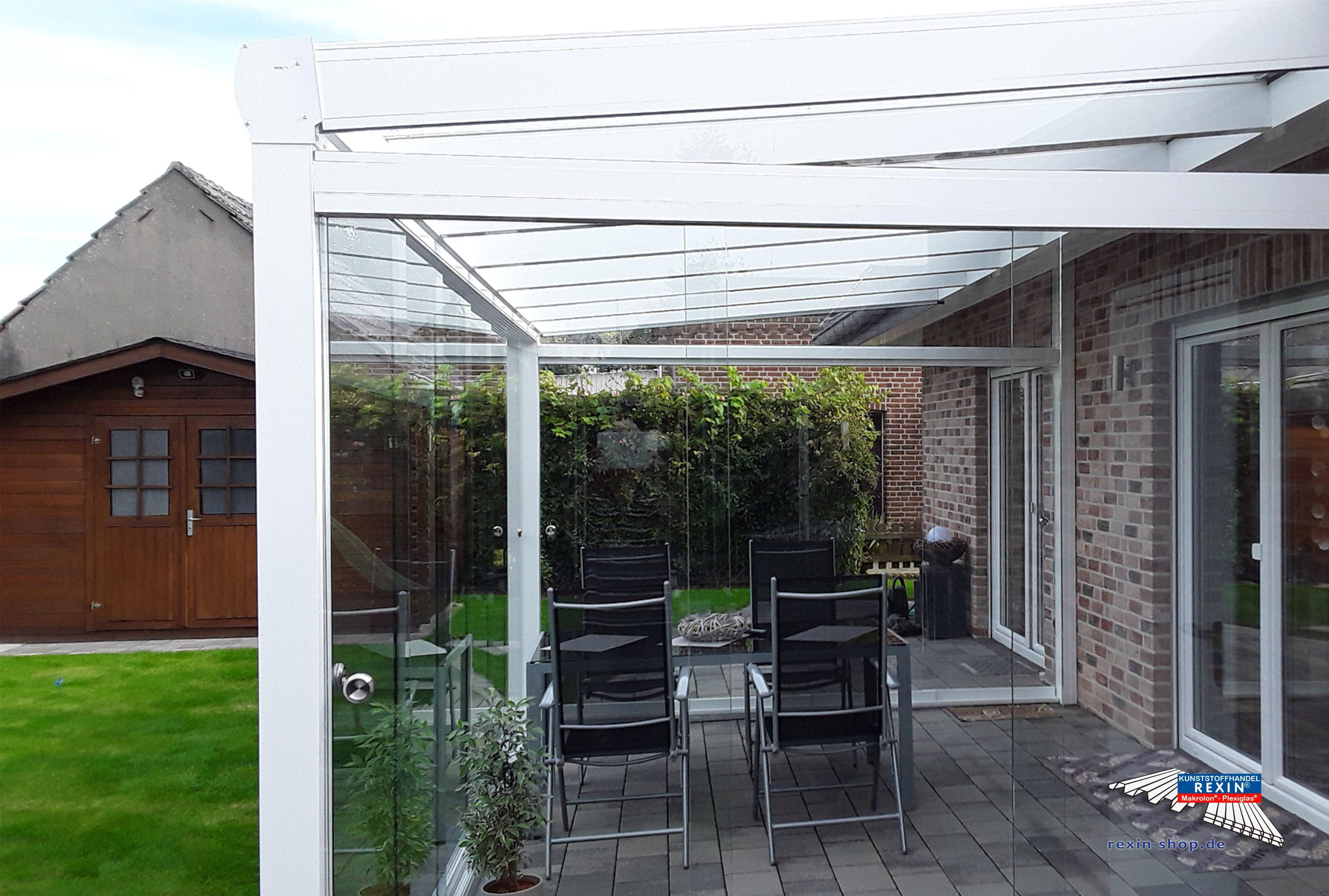 Terrassendach Aus Aluminium Mit Vsg Glas Kompl Neu ~ Alu terrassendach carport aluminium terrassenüberdachung veranda