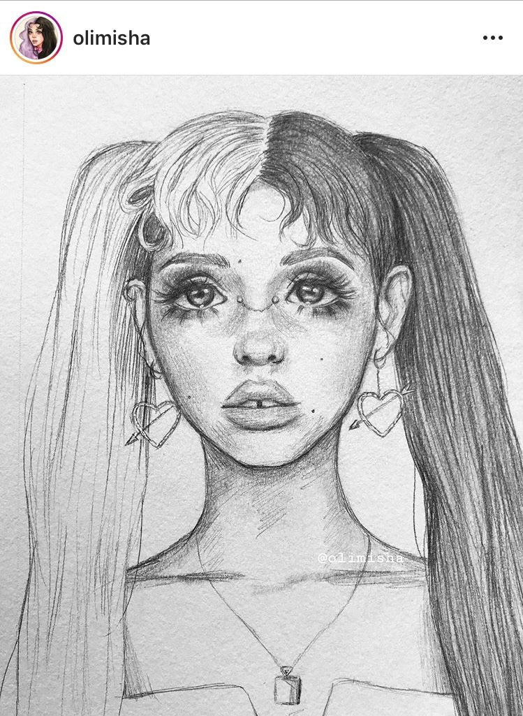 Melanie Martinez Led Drawing Not Mine Melanie Martinez Drawings Melanie Martinez Art Drawings Sketches Simple