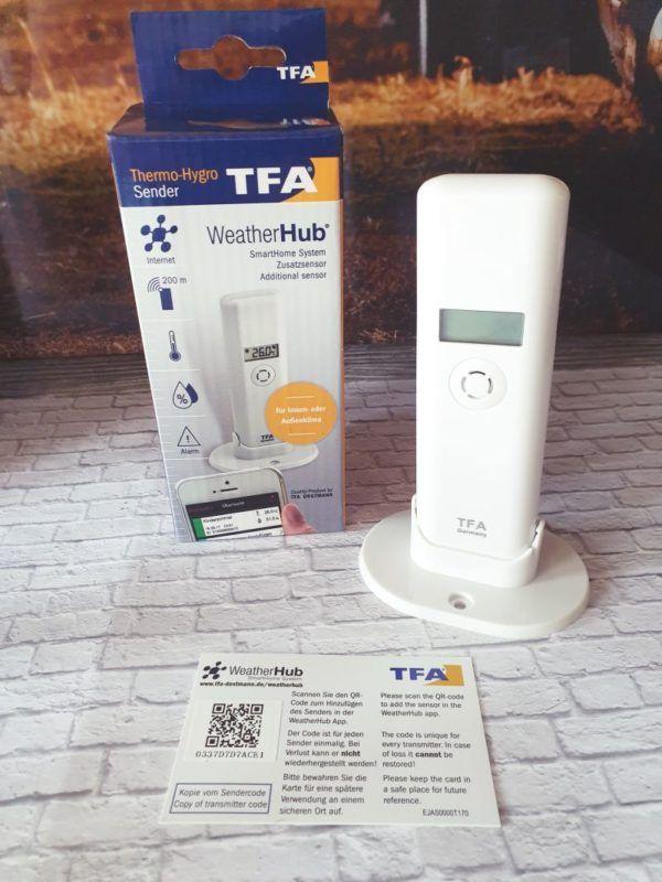 TFA Dostmann Schimmelvermeidung durch WeatherHub