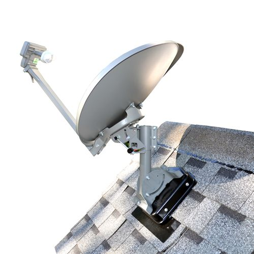 Commdeck Satellite Dish Roof Mount Commdeck 59 99 The Satellite Shop Satellite Dish Equipment Tv Programming Satellite Dish Tv Accessories House Roof