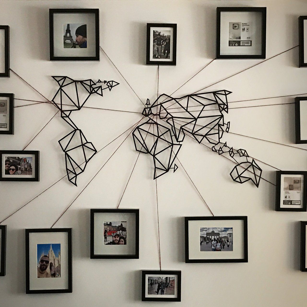 Pin By Paige Mikesell On Ideas Home Decor Map Wall