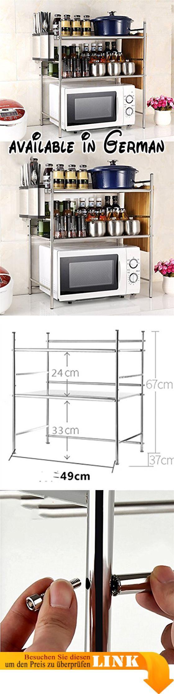 B078WR2LHB : L&Y Kitchen furniture Küche Regal Mikrowelle Ofen Rack ...