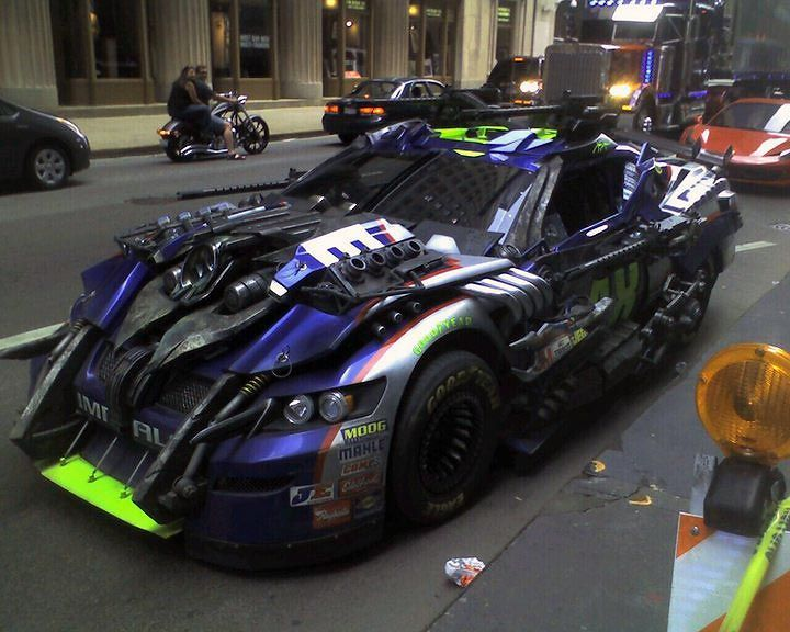 NASCAR Transformer From DOTM The Wrecker Topspin Lol Love This - Fast 4 car list