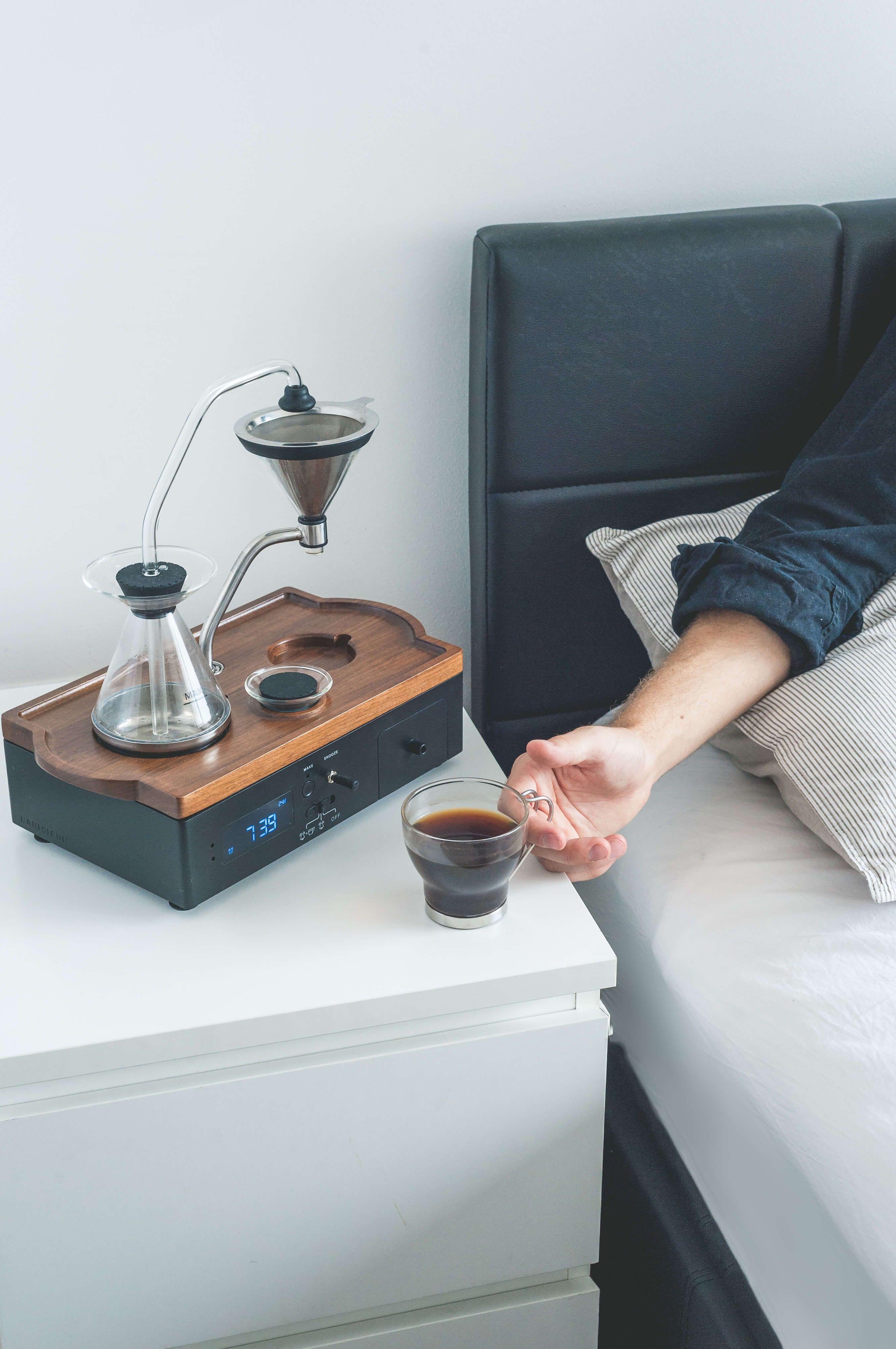 Coffee maker alarm clock Automatic coffee machine