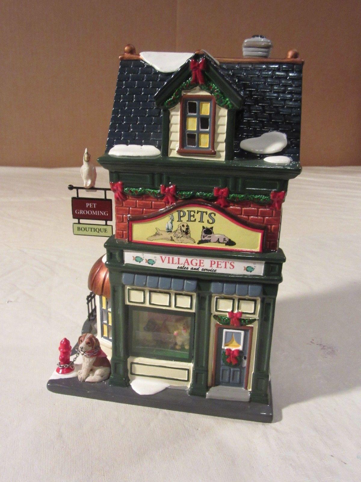 Dept 56 Snow Village Pets Sales Service 55365 Shop