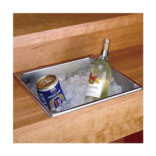 Our Quart Stainless Steel Dry Sink Makes A Great Addition To Your Bar Or Serving Area This Is Made Of Mm 22 Gauge