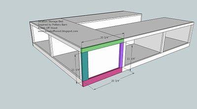 Ana Blanco   Construye una reina Sized Almacenamiento Cama   Free and Easy DIY de Proyectos y Planes de muebles