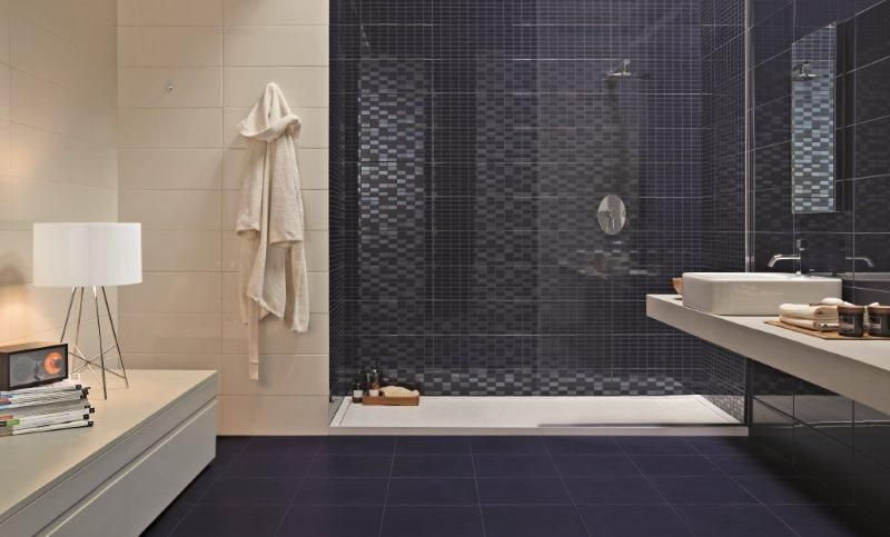 tegels douchewand - badkamers | pinterest - badkamer, badkamers en, Badkamer
