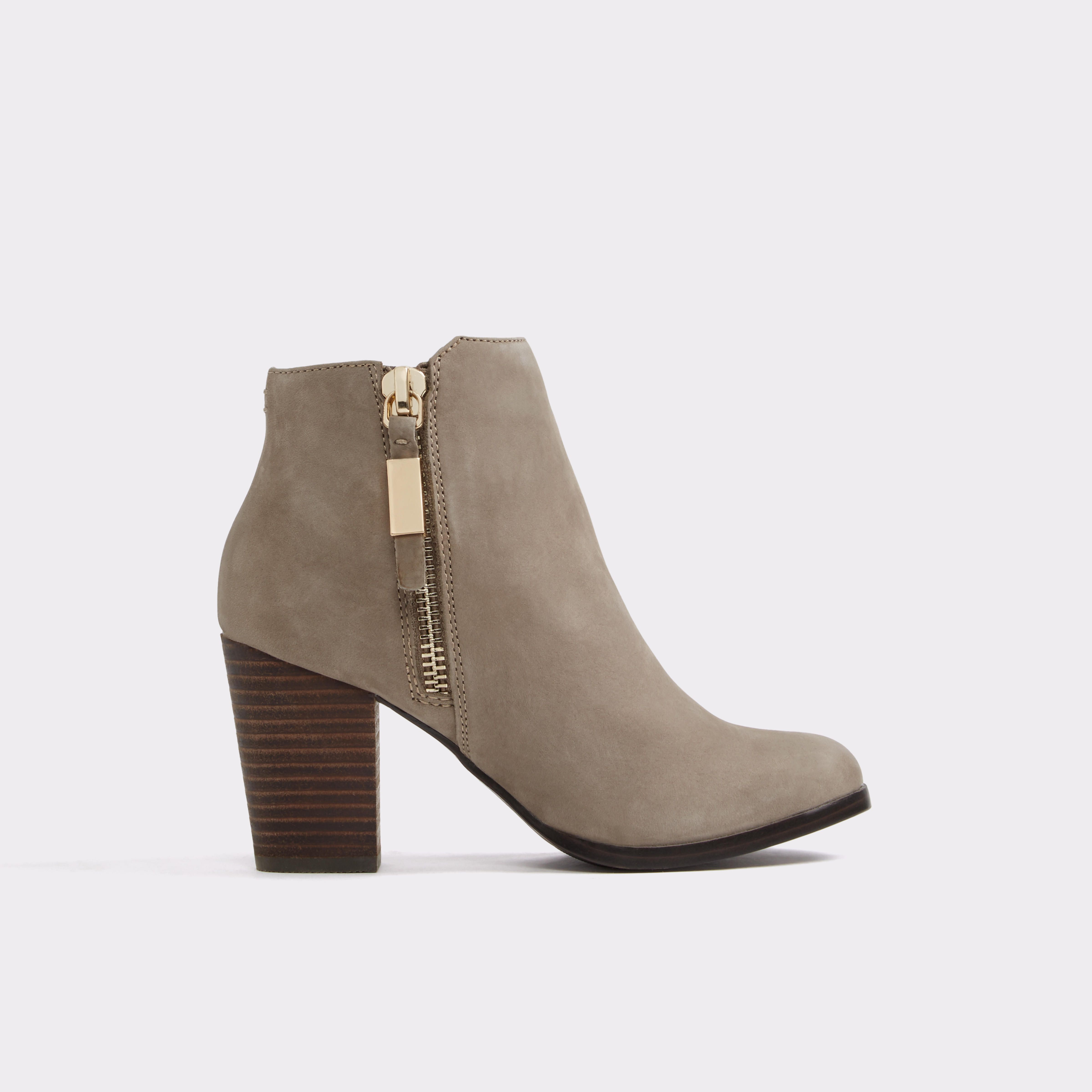 Mathia Grey Women's Ankle boots | ALDO Canada | Brown boots