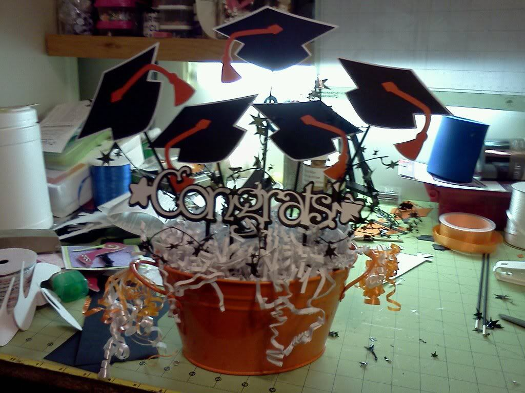 8th grade graduation party ideas | center piece for daughter - other