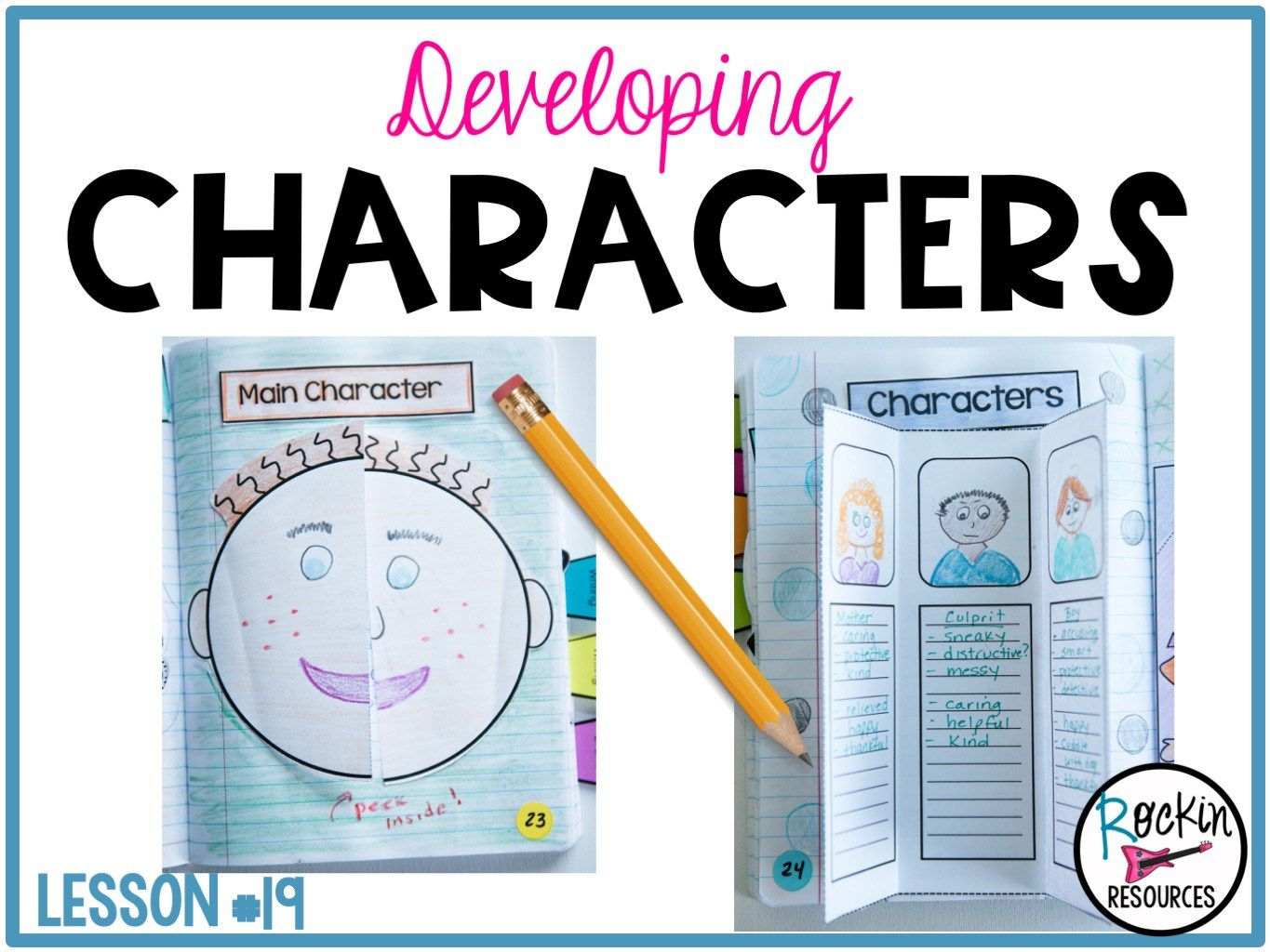 Writing Mini Lesson 19 Developing Characters In A Narrative Essay