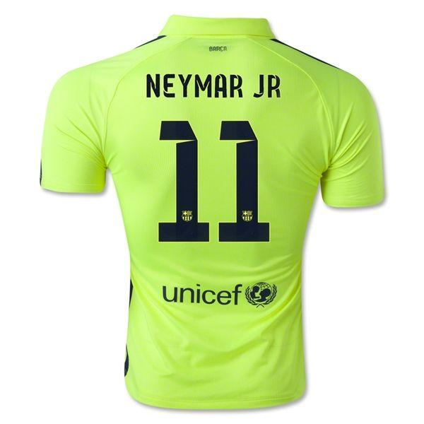 brand new 98991 25a78 Barcelona 14/15 NEYMAR JR Authentic Third Soccer Jersey | Futbol