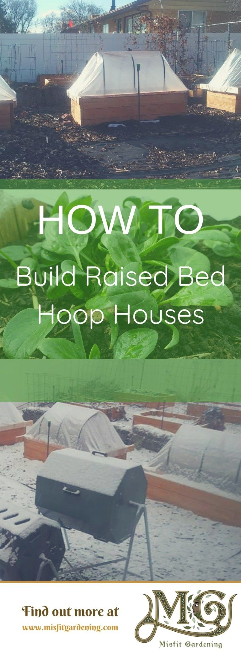 How To Build A Hoop House For Raised Beds Raised beds