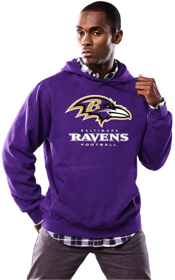 b19a6462da87 Majestic Men s Baltimore Ravens Critical Victory III Hoodie