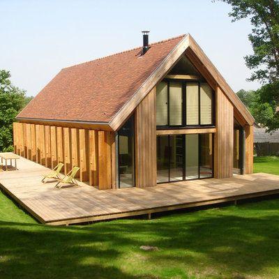 Une maison familiale, simple et écologique House