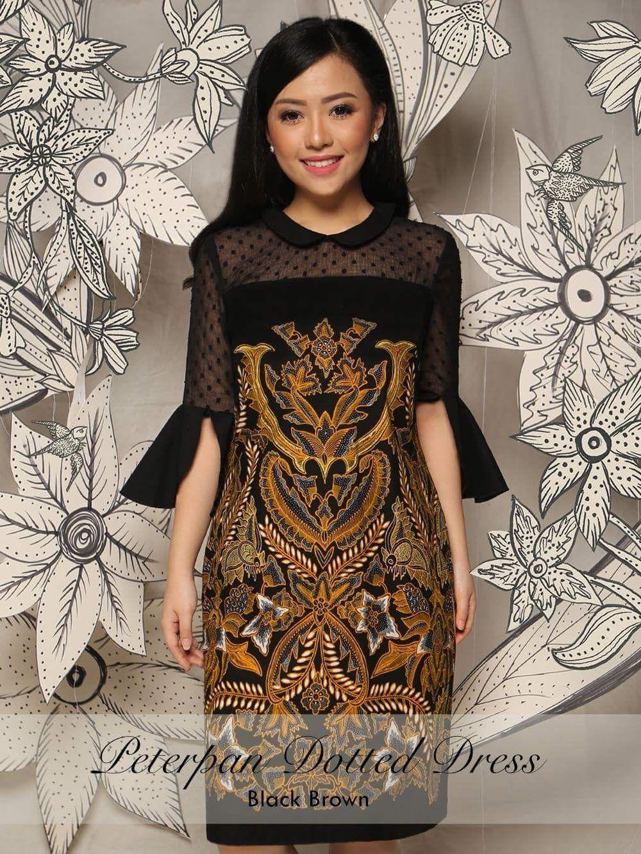 Model Gaun Batik Flores Wanita di 8  Model baju wanita, Wanita