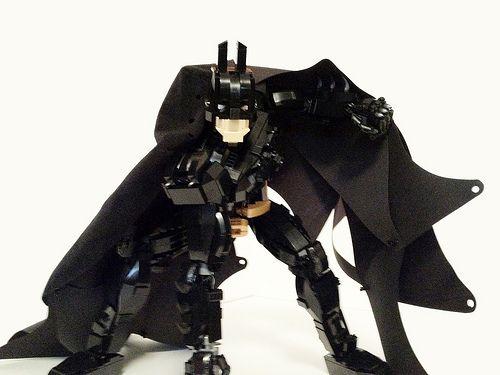 Fully posable LEGO Batman