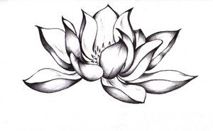 Pix For Buddhist Lotus Flower Drawing Clipart Best Flower Tattoo Drawings Picture Tattoos Lotus Flower Tattoo Design