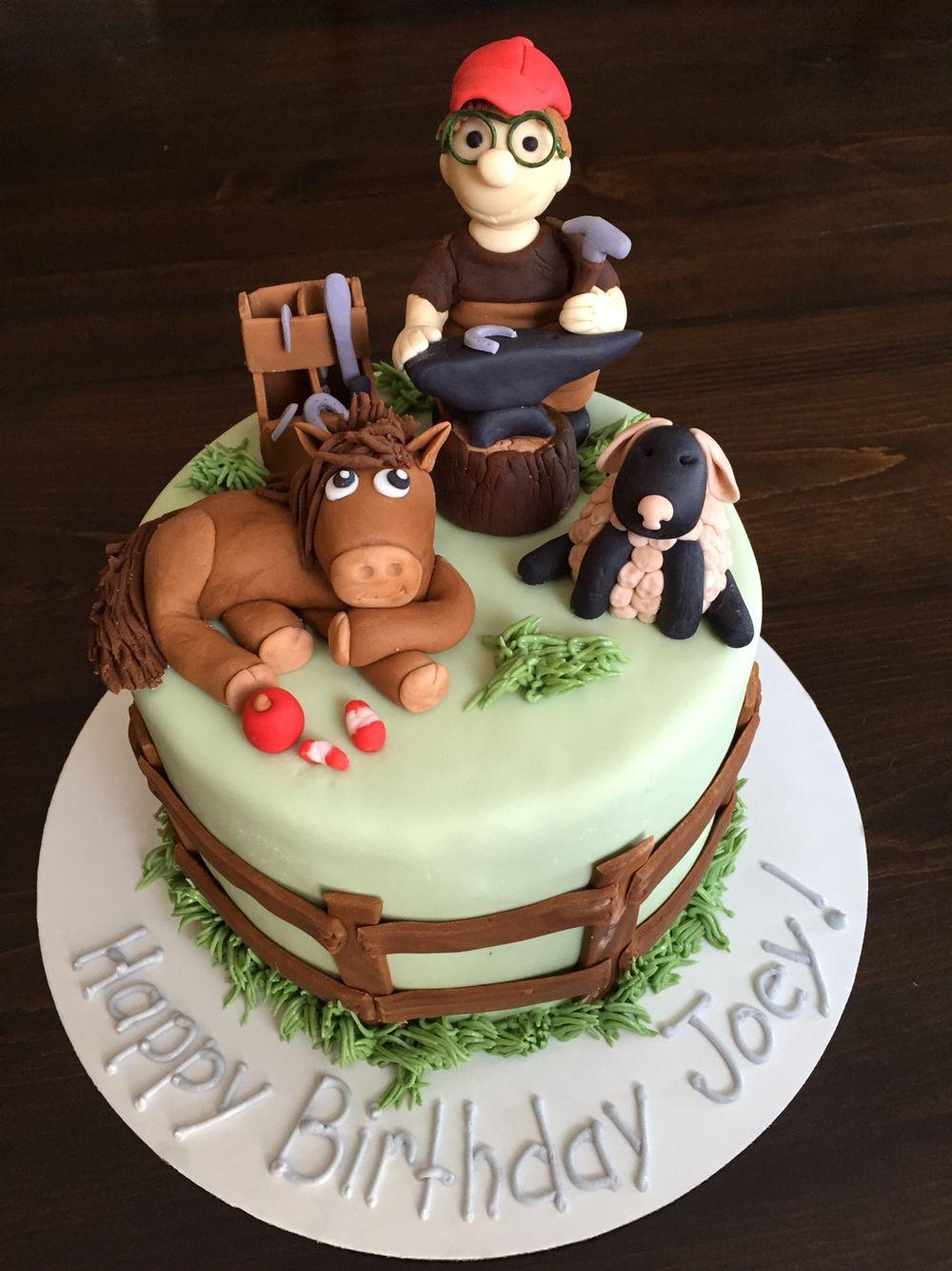 Horsefarrierrthday Cake Cake Decor Pinterest Cake