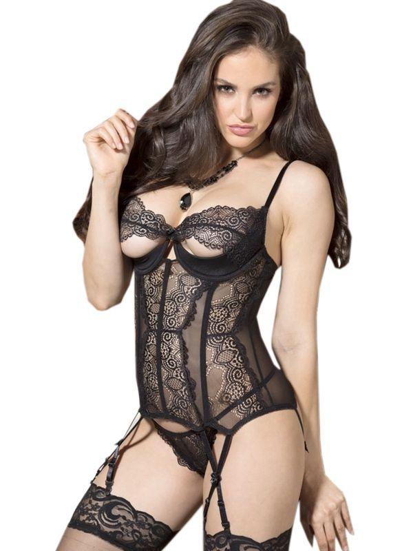 f7f102740 Black Woman Lace Transparent Teddies Lingerie Sales Price  US 7.25 ...