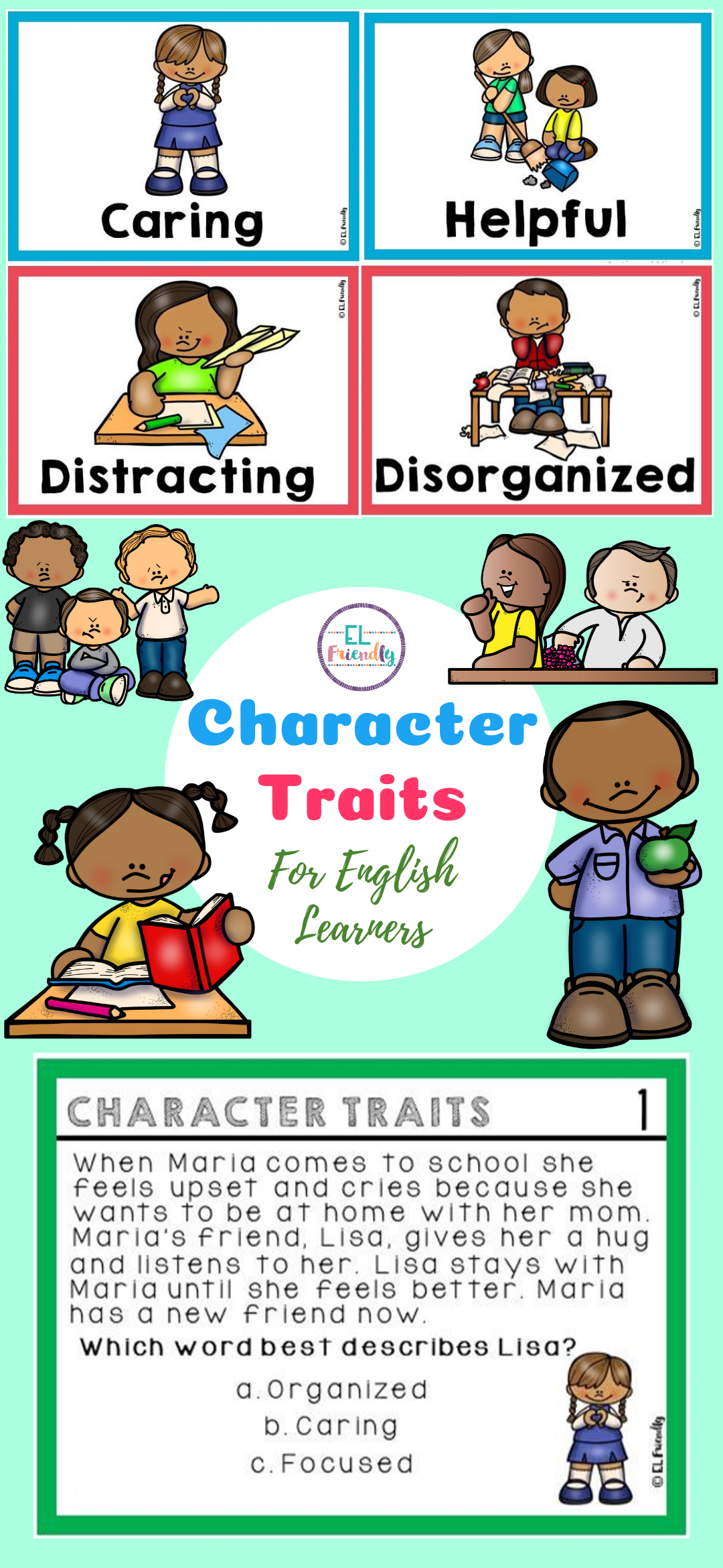 Character Traits For English Learners