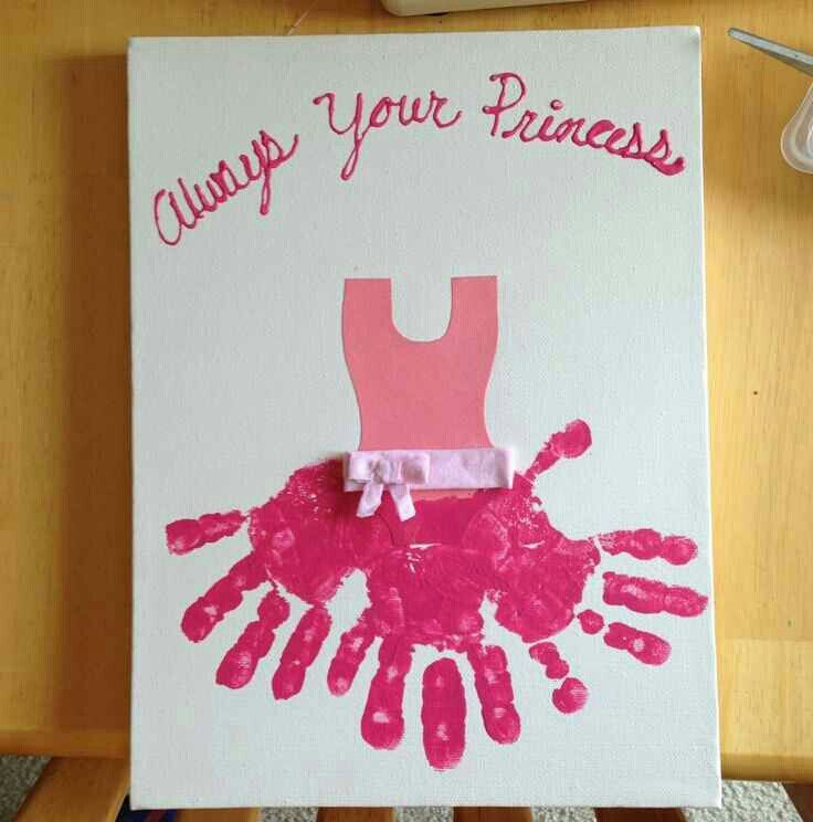 Princess Diy Mothers Day Gifts Dad From Daughter Daddy
