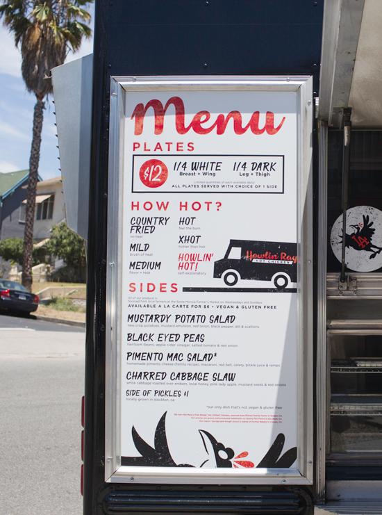 Oh Joy Eats Howlin Rays Fried Chicken Design Print Logos