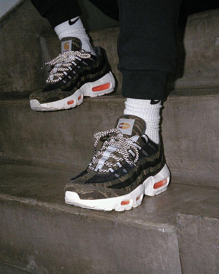 Nike Sportswear x Carhartt WIP Air Max 95.  fb92feba2