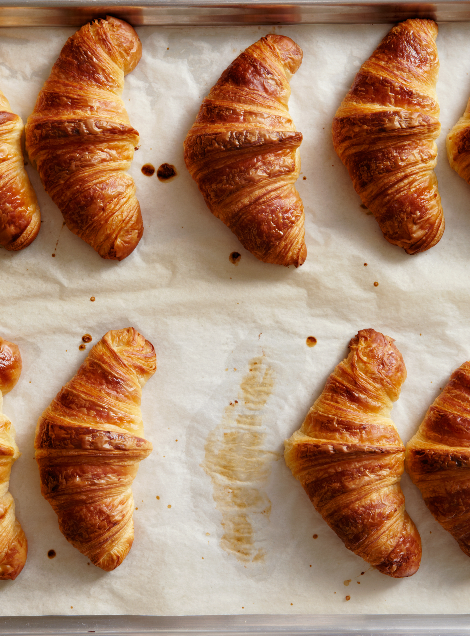 We can't stop watching these red velvet croissants being made