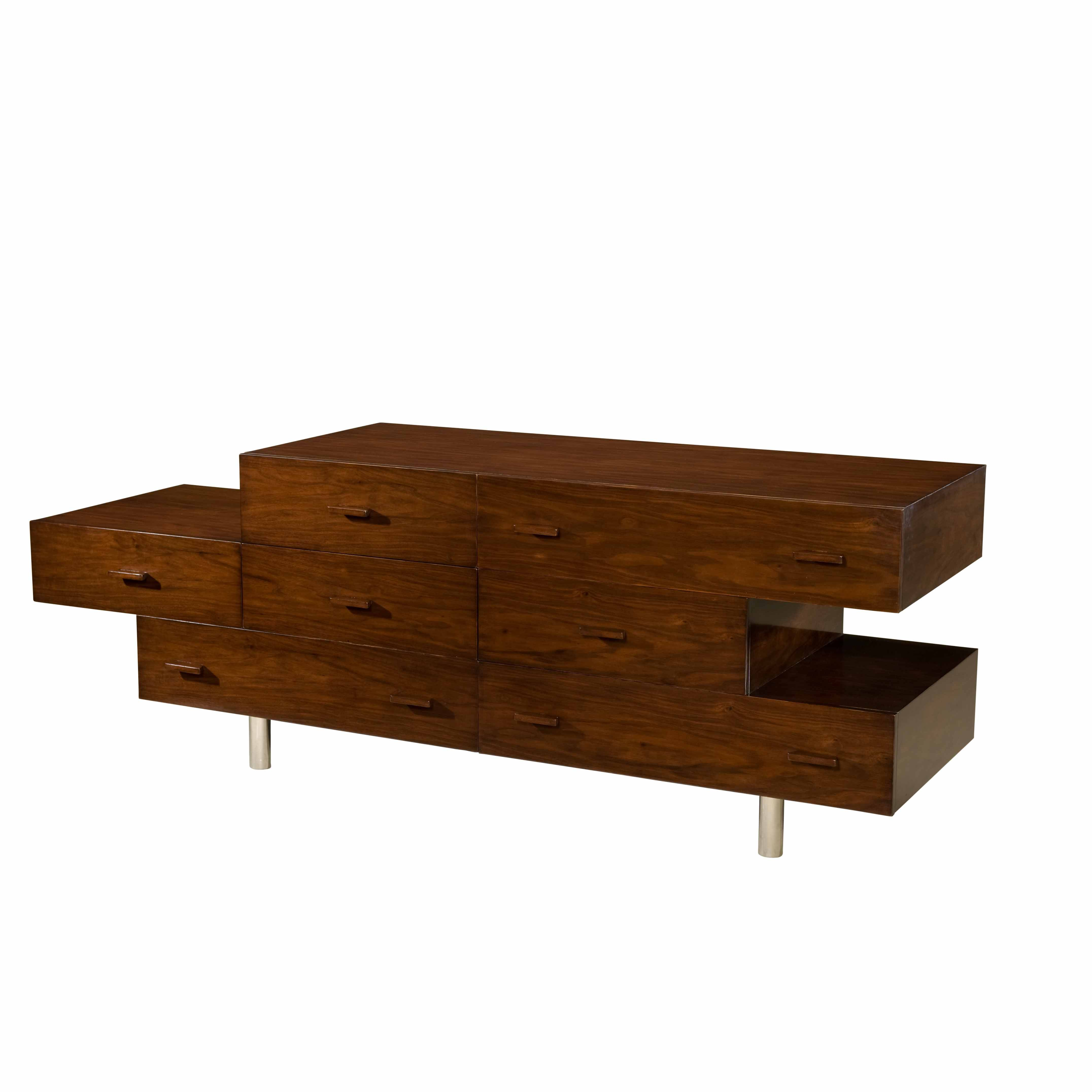 Ej Victor The Allison Paladino Laurelle Media Cabinet Is Constructed Of Walnut And Has Stainless Steel Le Large Furniture Furniture Decor