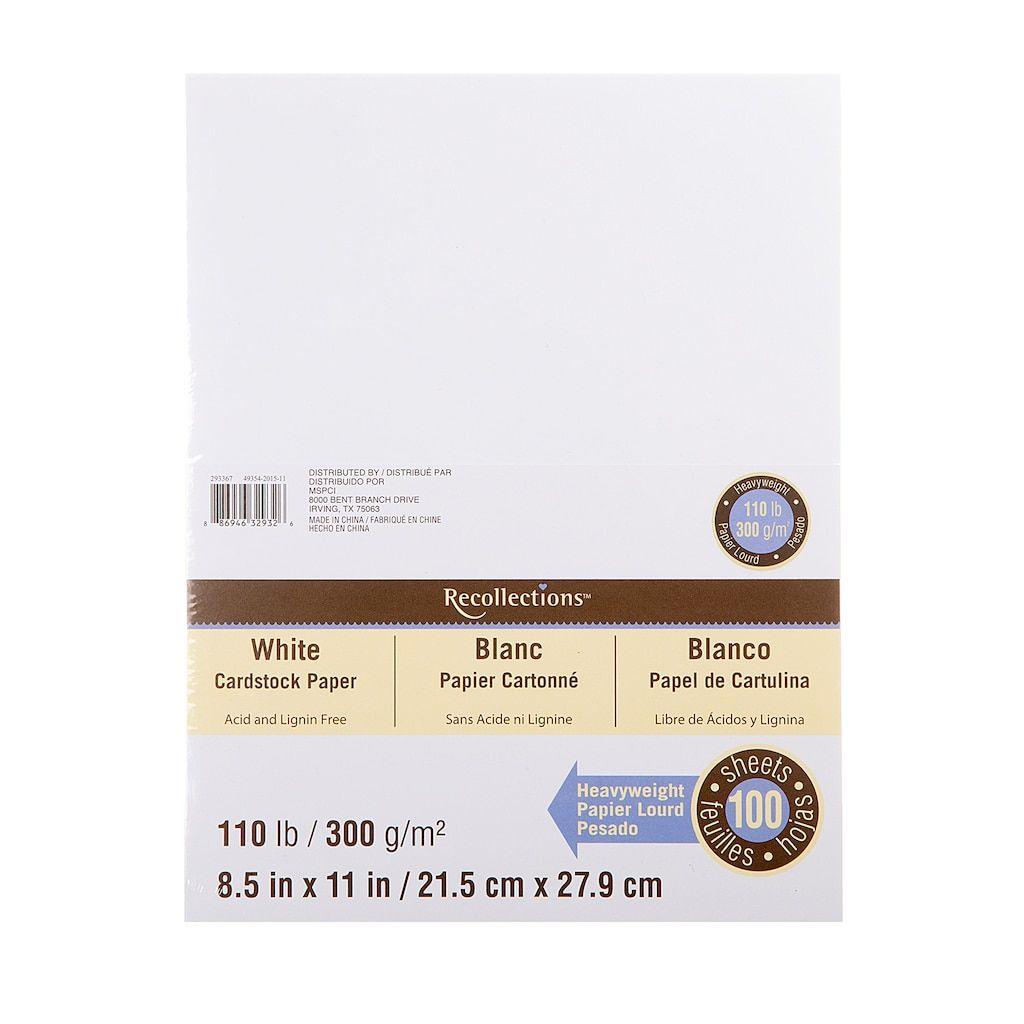 8.5 x 11 inch 25 Sheets Dark Brown Cardstock 100Lb Cover