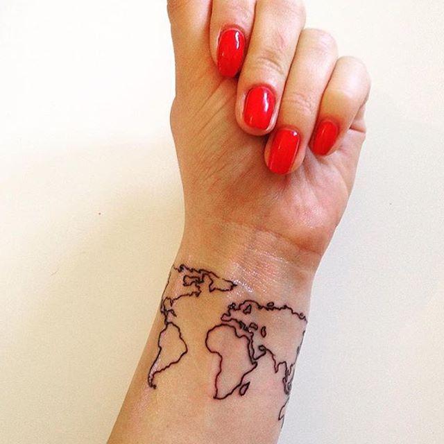 Josiera her tattoo worldmap worldmaptattoo smalltattoo josiera her tattoo worldmap worldmaptattoo smalltattoo tattooaccount wristtattoo gumiabroncs Choice Image