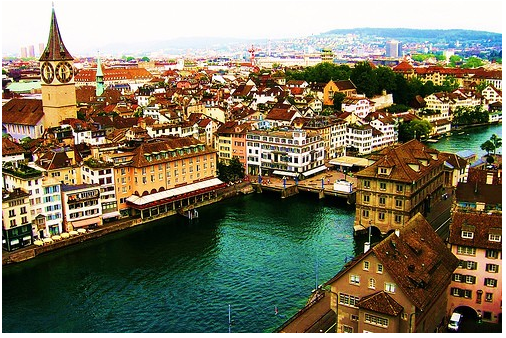 Zurich, Switzerland - One of the most beautiful cities I've ever visited. Will be back. But you pay for it.....