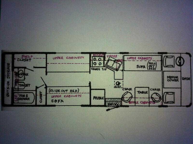 Floor Plan 1978 Barth Motorcoach Floor Plans How To
