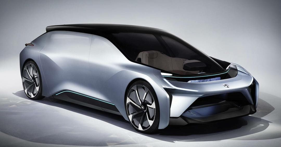 Nio Unveils Self Driving Electric Concept Car Says They Ll Have Autonomous Cars In The U S By 2020 Neat Cars Electric Car Concept Electric Cars Car