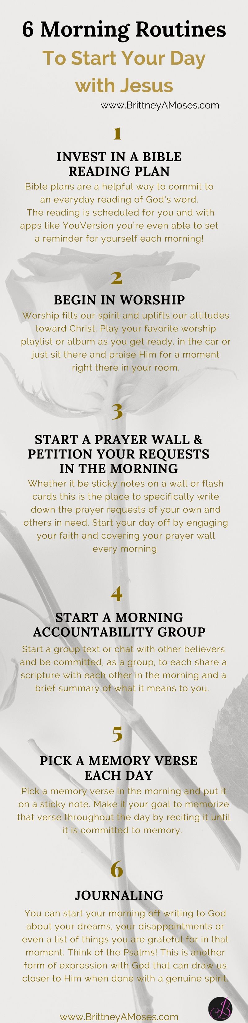 10 morning routines to start your day with jesus bible 10 morning routines to start your day with jesus negle Choice Image