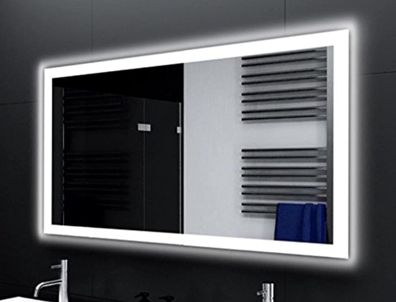 Badspiegel Designo Ma4110 Mit A Led Beleuchtung B 60 Cm X H